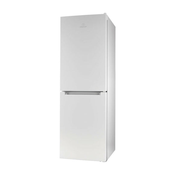 INDESIT 60cm Less Frost 159cm High A+ Fridge Freezer  - LR6S1WUK1