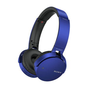 SONY Extra Bass Bluetooth Headphones - MDRXB650BTLCE7-Briscoes