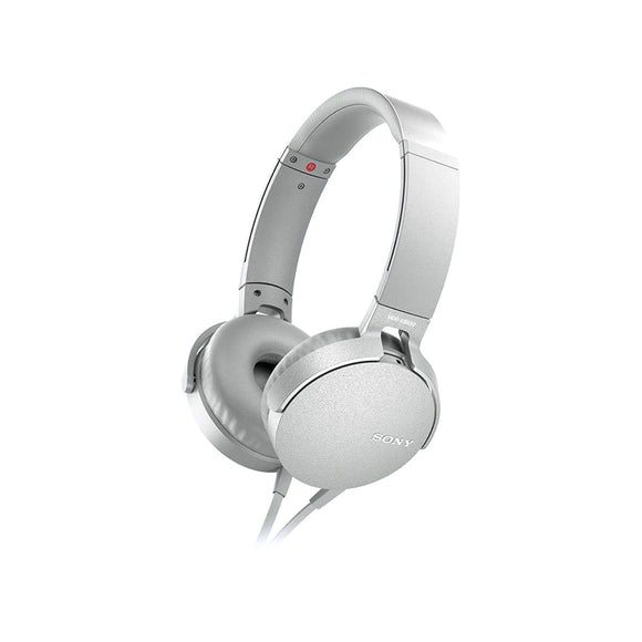 SONY Extra Bass™ Headphones - MDRXB550APWCE7-Briscoes