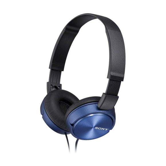 SONY Folding Headphones Blue - MDRZX310APLCE7-Briscoes
