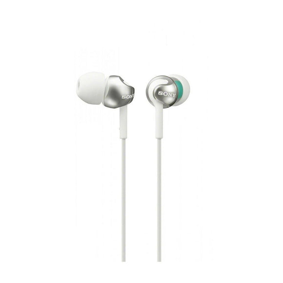 SONY In Ear Headphones With Rich Deep Bass - MDREX110LPWAE-Briscoes