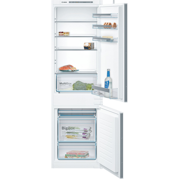 BOSCH KIV86VS30G Integrated 60/40 Fridge Freezer- Ex Display