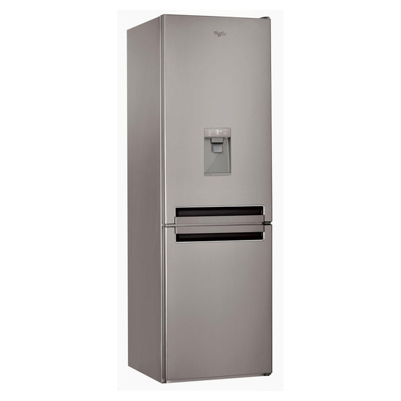 WHIRLPOOL 60cm 60/40 Fridge Freezer with Water Dispenser - BSNF8451OX-Briscoes