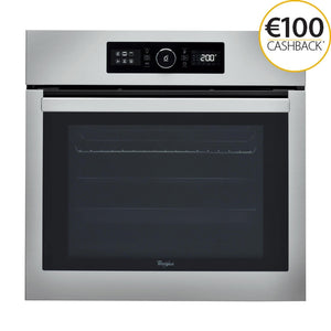 WHIRLPOOL 65 Litre 6th Sense Multifunction Oven with Absolute Styling - AKZ6230IX-Briscoes