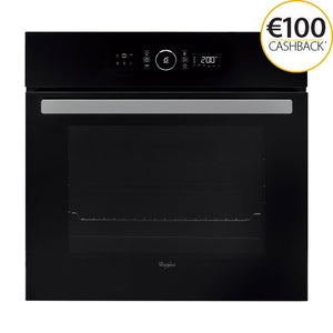 WHIRLPOOL 65 Litre 6th Sense Multifunction Oven with Absolute Styling - AKZ6230NB-Briscoes