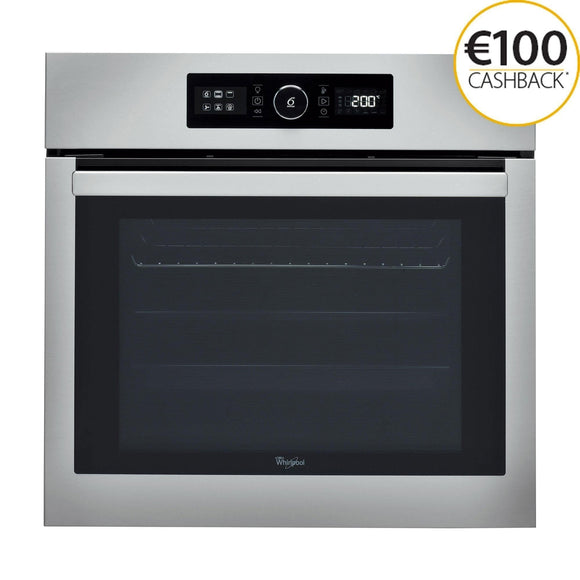 WHIRLPOOL 65 Litre 6th Sense Multifunction Oven with Absolute Styling - AKZ6270IX-Briscoes