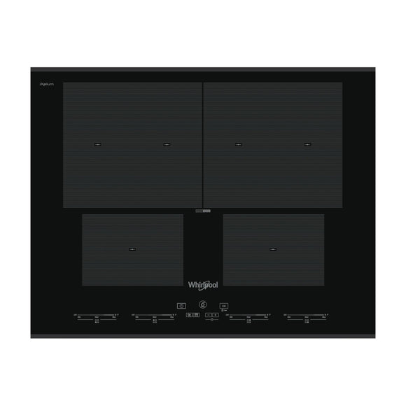 WHIRLPOOL 65cm SmartCook Induction Hob with SmartSet - SMO654OFBTIXL-Briscoes
