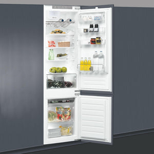 WHIRLPOOL 70/30 Stop Frost Integrated Fridge Freezer - ART22880ASF-Briscoes