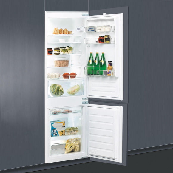 WHIRLPOOL 70/30 Stop Frost Integrated Fridge Freezer - ART6550ASF-Briscoes