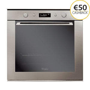 WHIRLPOOL 73 Litre Multifunction Oven with Ambient Styling - AKZM755IX-Briscoes