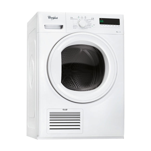 WHIRLPOOL 8kg Heatpump Condenser Dryer with 6th Sense - HDLX80313-Briscoes