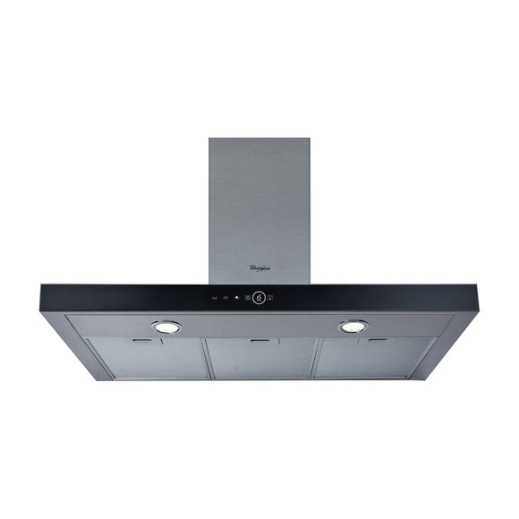 WHIRLPOOL 90cm Box Chimney Hood - AKR759IX-Briscoes