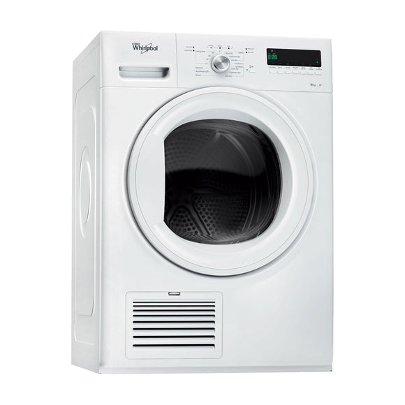 WHIRLPOOL 9kg Heatpump Condenser Dryer with 6th Sense - DDLX90110-Briscoes