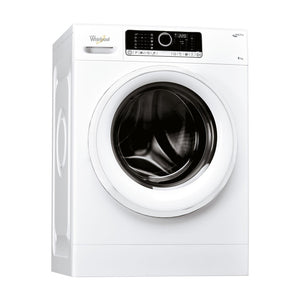 WHIRLPOOL Supreme Care Core Design 8kg Washing Machine with 6th Sense - FSCR80415-Briscoes