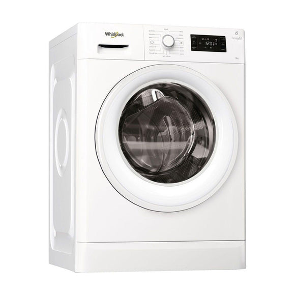 WHIRLPOOL Washing Machine 9kg Load With 6th Sense - FWG91284WUK-Briscoes