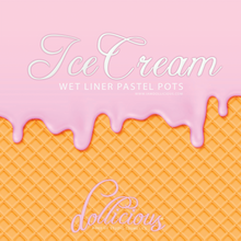 ICE CREAM PASTEL LINER SET