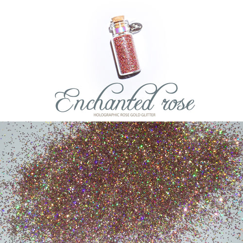 Enchanted Rose Glitter