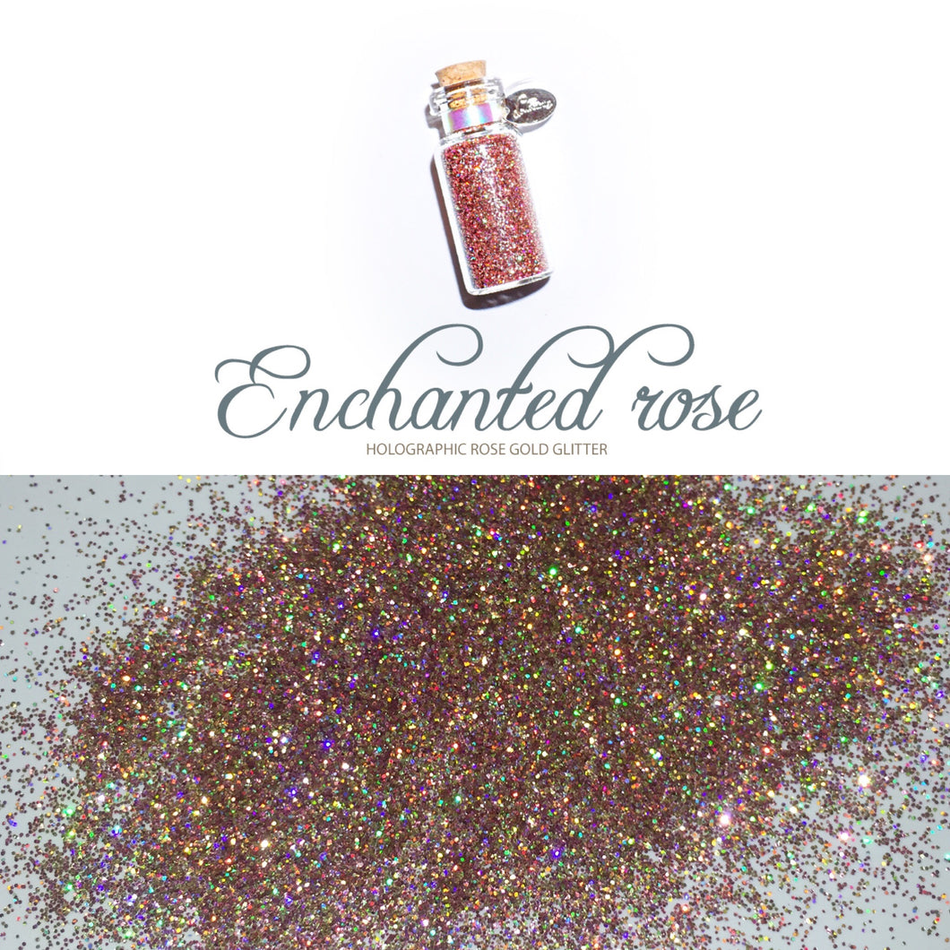 Glitter Pot ENCHANTED ROSE