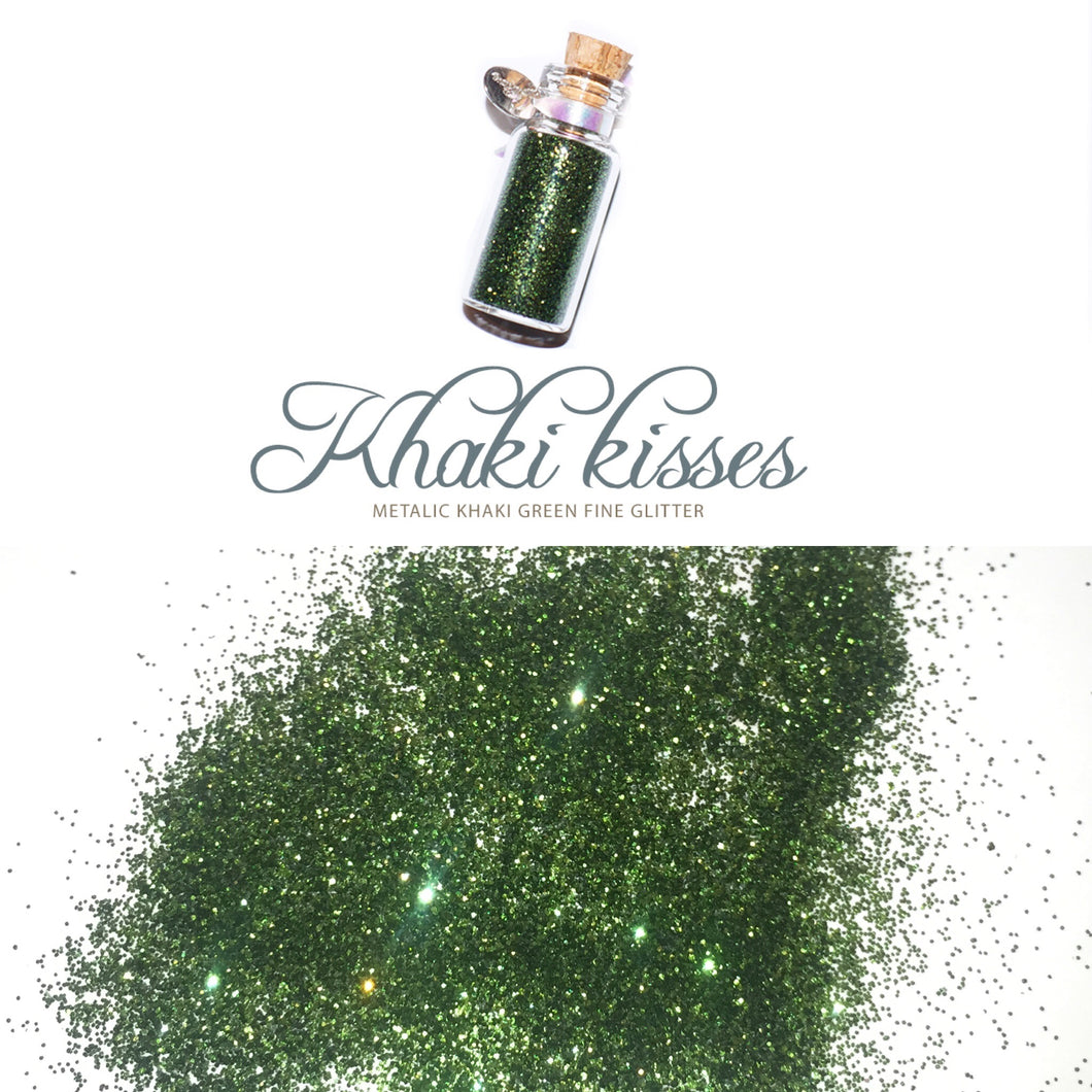Glitter Pot KHAKI KISSES