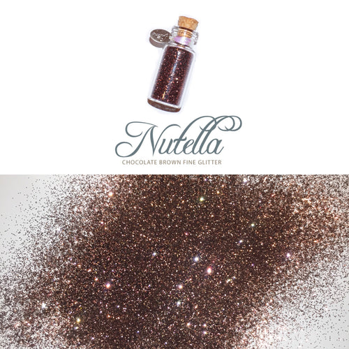 Glitter Pot NUTELLA