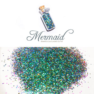 Glitter Pot MERMAID
