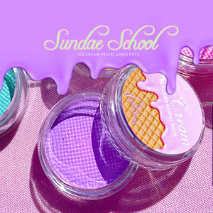 ICE CREAM Pastel Liner Shade SUNDAE SCHOOL