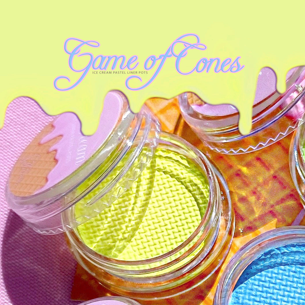 ICE CREAM Pastel Liner Shade GAME OF CONES