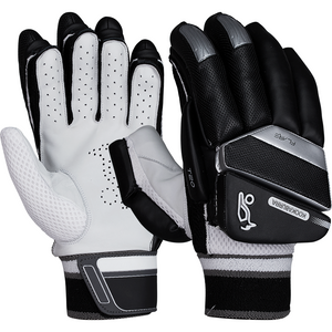 T/20 Flare - Black Batting Gloves