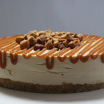 Caramel Hazelnut Cheesecake