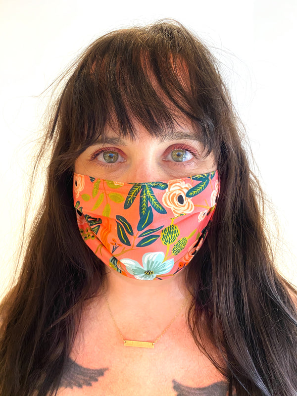 Fab Face Masks- Pleated