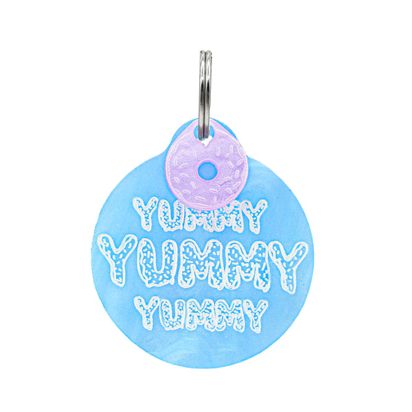 Dog ID Tag: Yummy Yummy Yummy