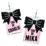 rebeldawg.com - Holiday Dog ID Tag: Double-Sided Eau de Perfume Bottle