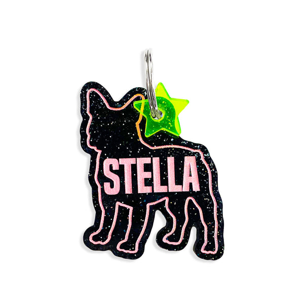 Custom Silhouette Dog ID Tag