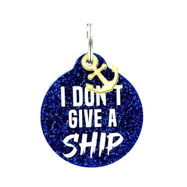 I Don't Give A Ship Dog Tag