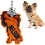 rebeldawg.com - ID Tags Custom Silhouette Dog ID Tag