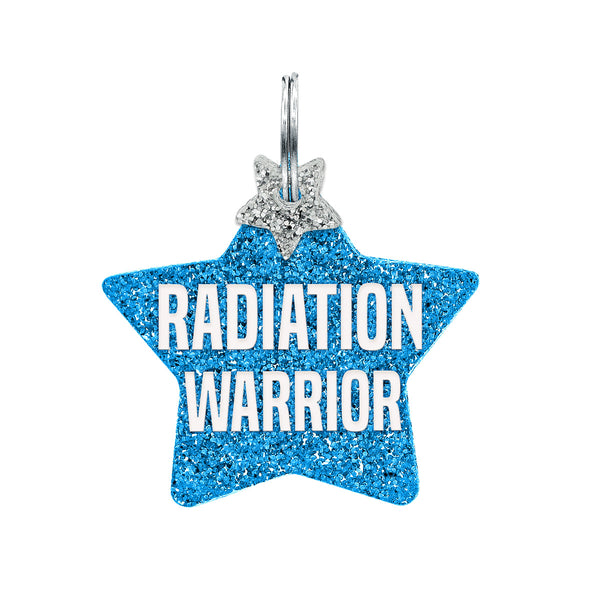 Dog ID Tag: Double-Sided Radiation Warrior