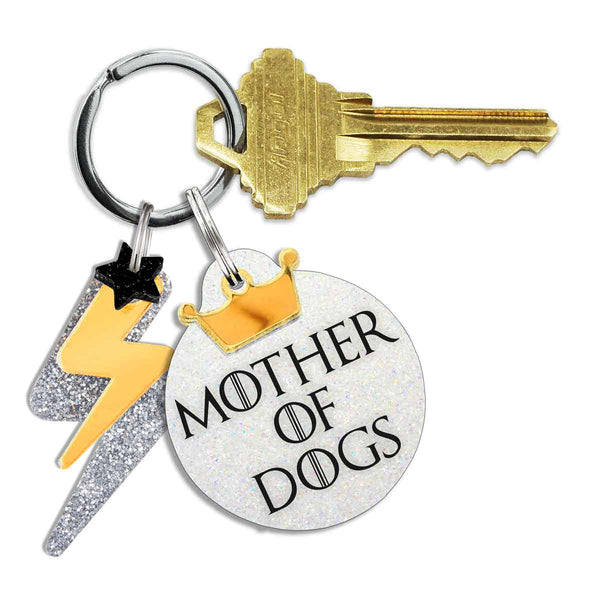 Mother of Dogs Keychain