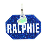 rebeldawg.com - ID Tags Dog ID Tag: Double-Sided Geo Gem