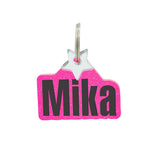 rebeldawg.com - Nameplates Dog ID Tag: Block Nameplate