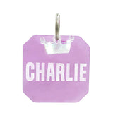 REBELDAWG.COM - ID Tags Double-Sided Marble-ous G-Squared ID Tag