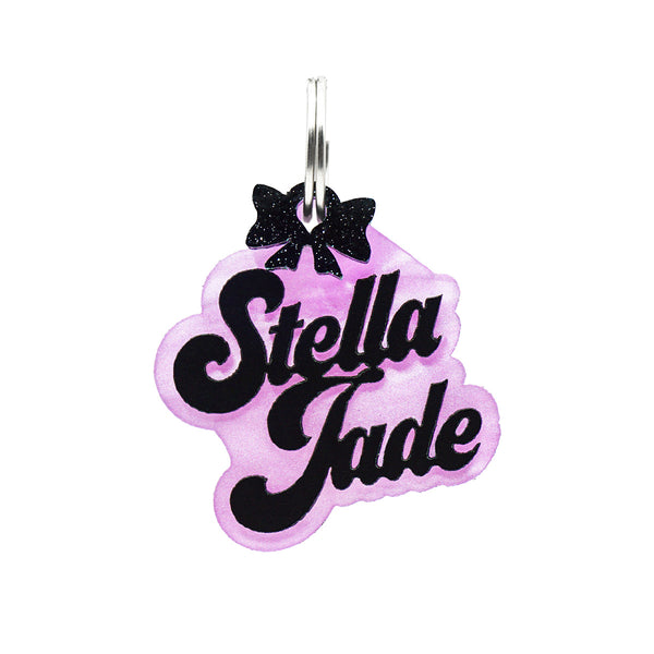 Fashion Dog ID Tags & Nameplates! Customize your dog to the max with our personalized one of a kind Dog ID Nameplates. Shop Rebel Dawg's newest collection featuring a brilliant durable black overlay.