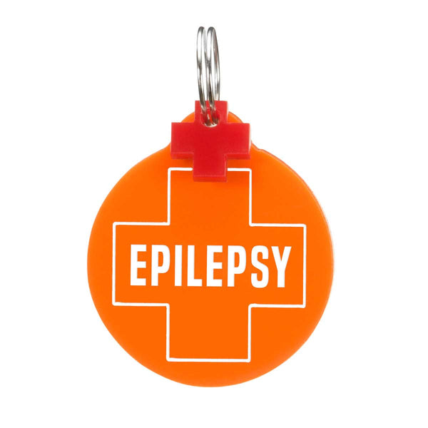 Dog ID Tag: Double-Sided Epilepsy