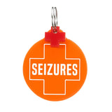 rebeldawg.com - medical Dog ID Tag: Seizures