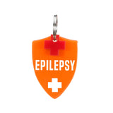 rebeldawg.com - medical Dog ID Tag: Double-Sided Epilepsy