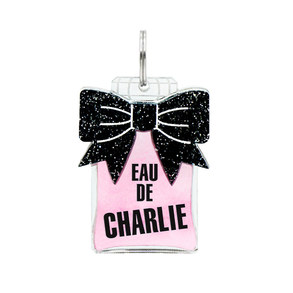 Dog ID Tag: Double-Sided Eau de Perfume Bottle