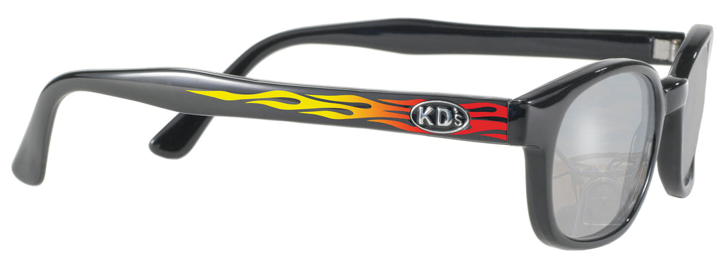 KD's-Flames Silver Mirror