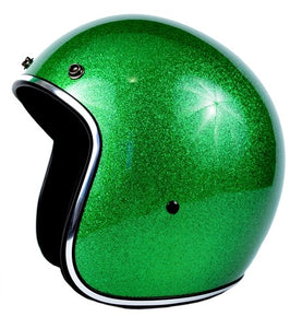 Sick Lid 3/4 Retro GREEN METAL FLAKE