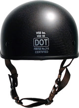 SOA DOT beanie CARBONATOR helmet-FLAT black/NO peak