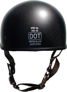 SOA DOT beanie CARBONATOR helmet-gloss black/no peak
