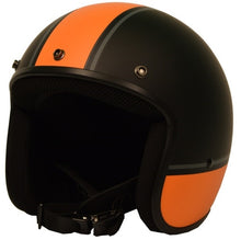 Sick Lid 3/4 Retro ORANGE RACING Stripe